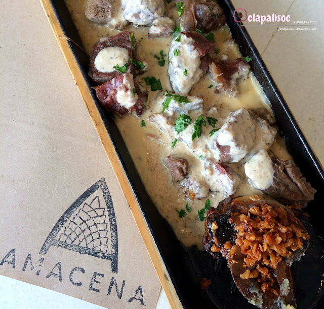 Sizzling Bulalo Steak from Amacena Tagaytay