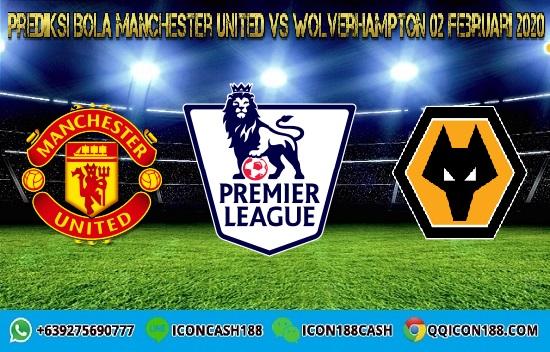 Prediksi Skor Manchester United vs Wolverhampton 02 Februari 2020