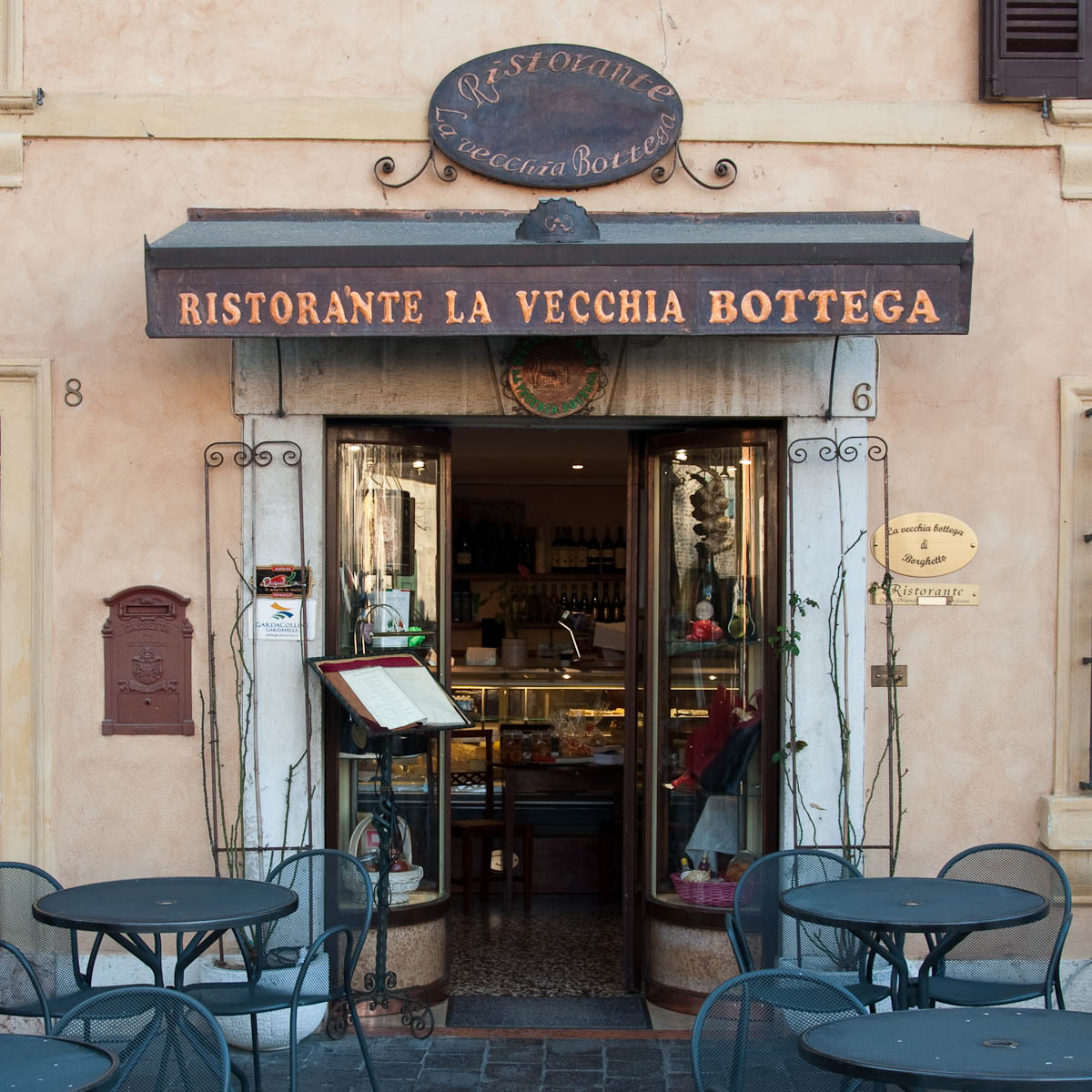 Restaurant, Borghetto, Veneto, Italy