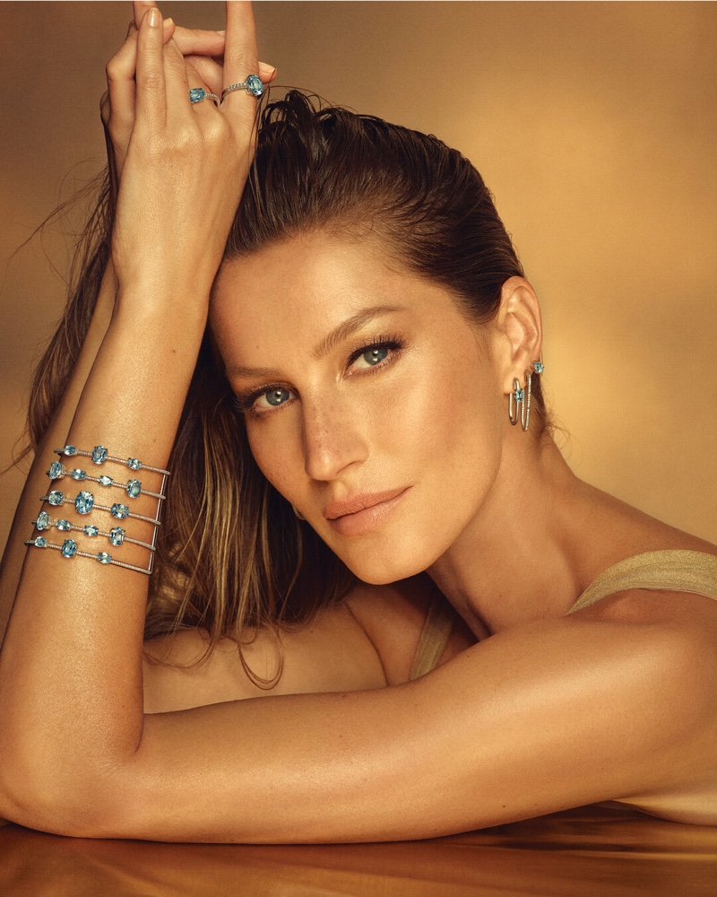 Gisele Bundchen fronts Vivara Golden Time jewelry campaign