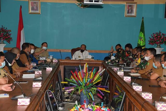 Bupati Natuna Gelar Rapat Koordinasi Persiapan Pelaksanaan Vaksinasi Covid-19