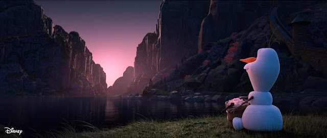 """#DisneyMagicMoments, At Home With Olaf - """"Sunrise"""""""", Disney, Frozen, Frozen 2"""