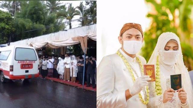 VIRAL Hari Pernikahan Gadis Ini Berujung Duka, Sang Ayah Meninggal Sehari Sebelum Akad Nikah
