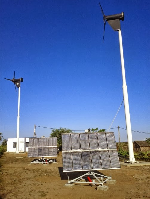 A CPV system brings electricity to Madagascar villagers ~ Technodhuniah:Information Technology