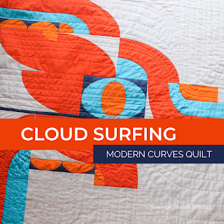 Cloud Surfing quilt | Shannon Fraser Designs