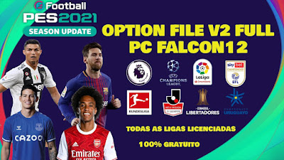 PES 2021 PC Option File by Falcon12