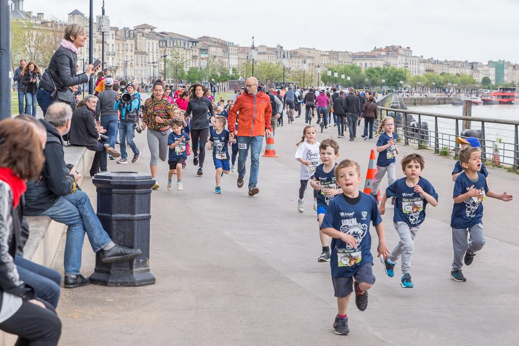 course enfants Marathon Bordeaux