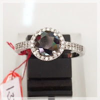 Jual Cincin Berlian Hitam Natural Black Diamond
