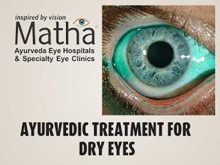 Dry Eyes Ayurvedic Treatment
