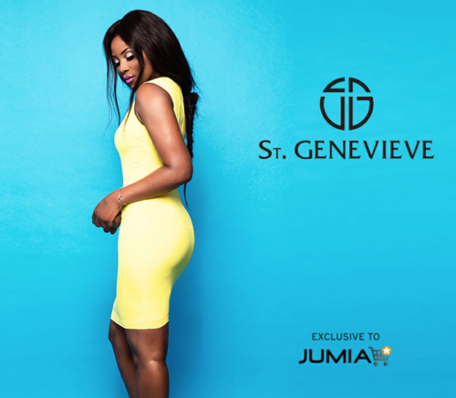 Genevieve Nnaji Debuts New Collection Today - St GENEVIEVE
