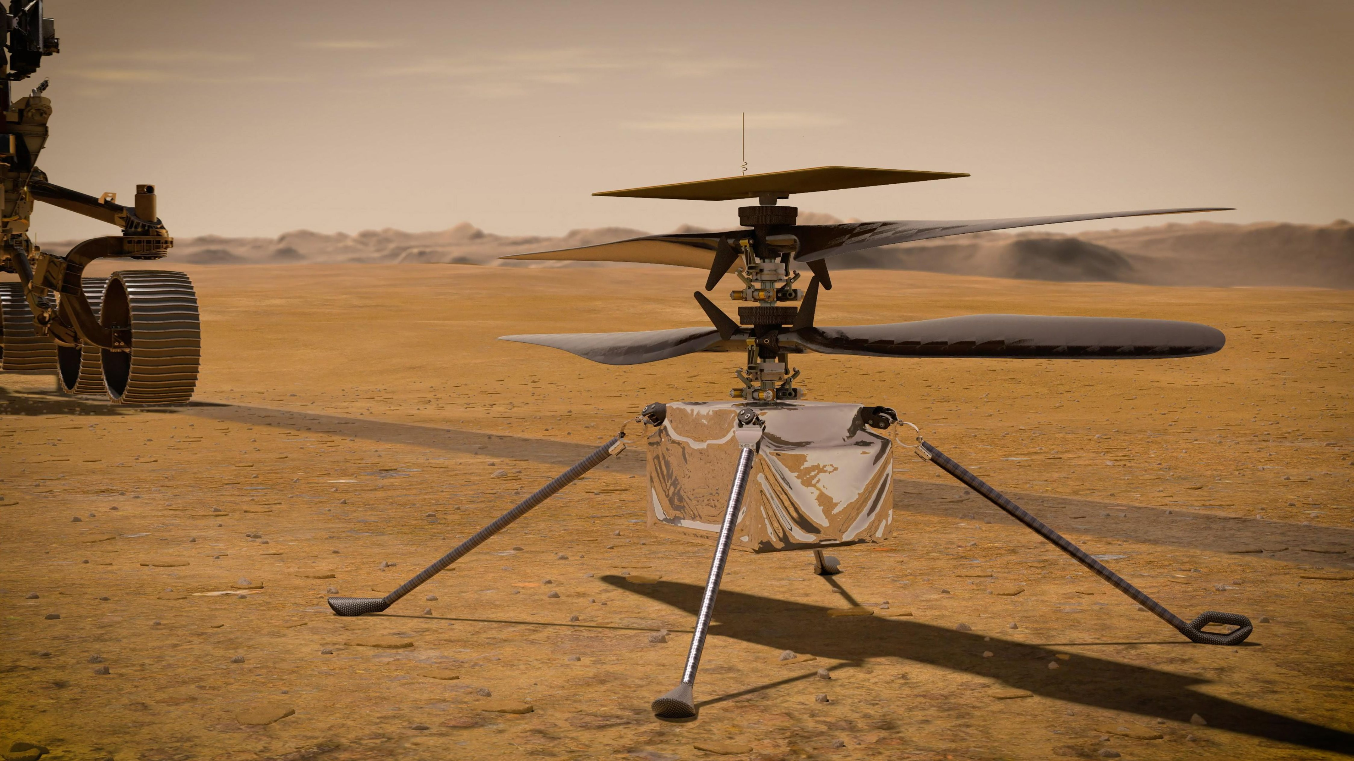 How Mars Helicopter, Ingenuity Will Fly On Red Planet