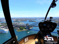 Helicopter flightseeing Sydney