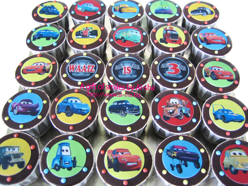 Birthday Cupcake Edible Image Disney Cars