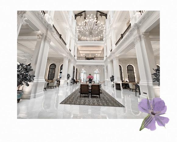 raffles singapore grand lobby