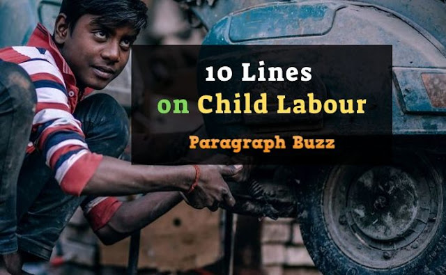 10 Lines on Child Labour in English