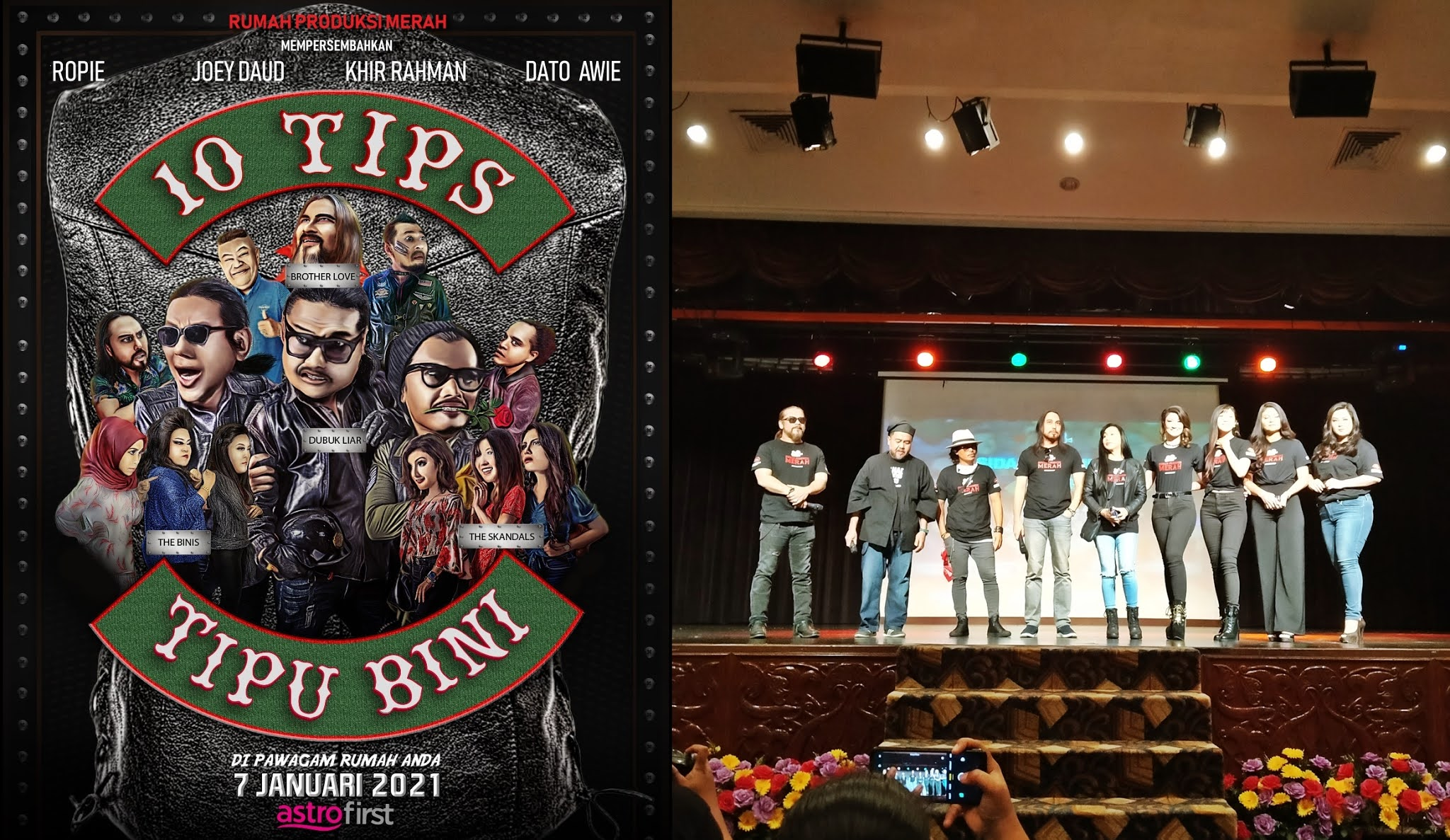 10 Tips Tipu Bini, Filem Komedi Pembuka Tirai 2021 Terbitan Dato' Awie !