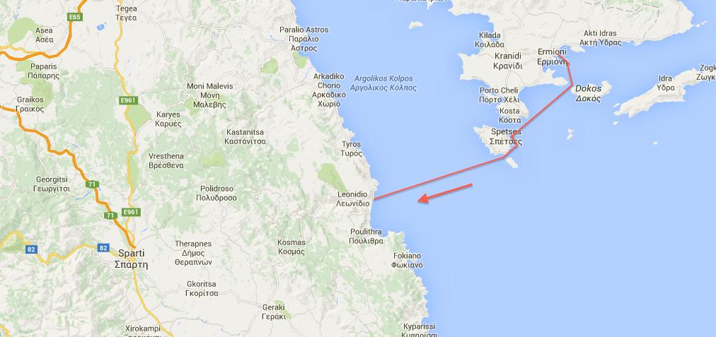 The Voyages of Tra Bhui Greece 4 Ermioni Finikunda