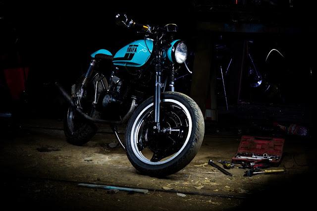Mercenary Garage - Metro Garage Yamaha RS100 Cafe Racer