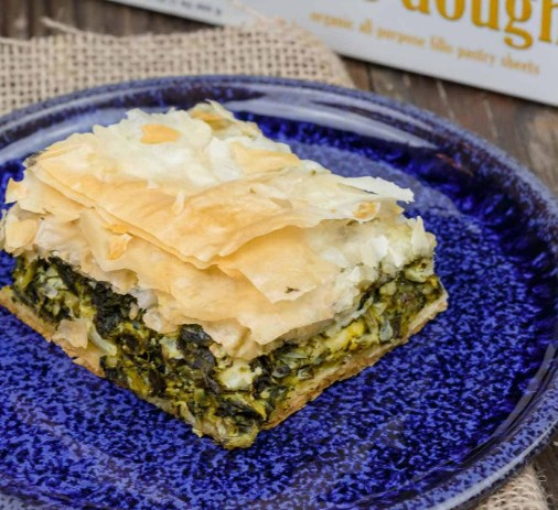 SPANAKOPITA RECIPE (GREEK SPINACH PIE) #vegetarian #dinner