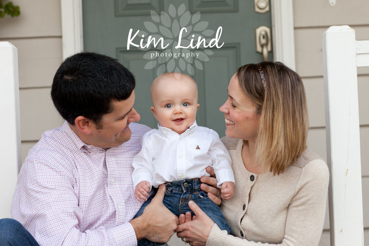 If the weather cooperates getting outside for a few shots is always a good idea i love front porch family photos