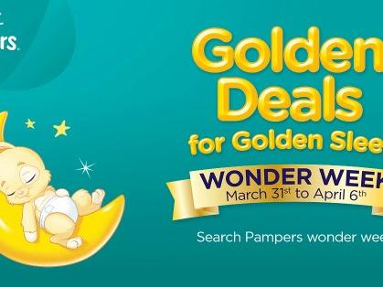 Pampers Wonder Week Is Back