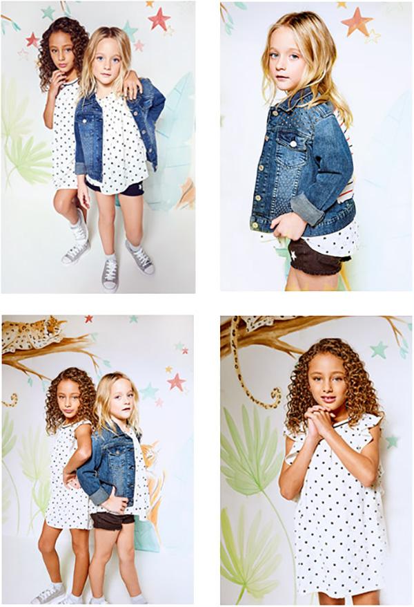 Moda primavera verano 2018. Ropa para niñas estilo urbano Kosiuko colección primavera verano 2018.