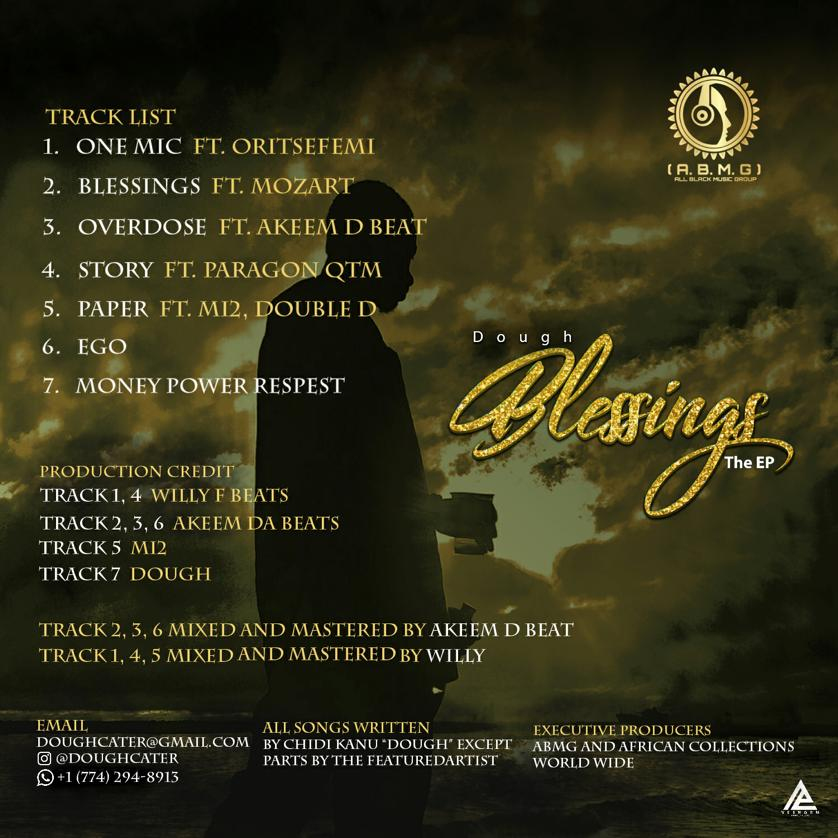 """Dough – """"Blessings"""" The EP #Arewapublisize"""