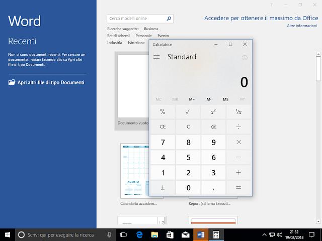 VSTO, all'avvio di MS Word e dell'add-in viene avviata la calcolatrice