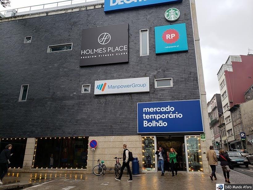 Mercado Temporário do Bolhão - O que fazer no Porto, Portugal
