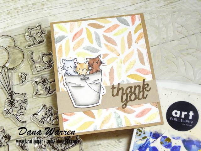 Dana Warren - Kraft Paper Stamps - Honey Bee Stamps