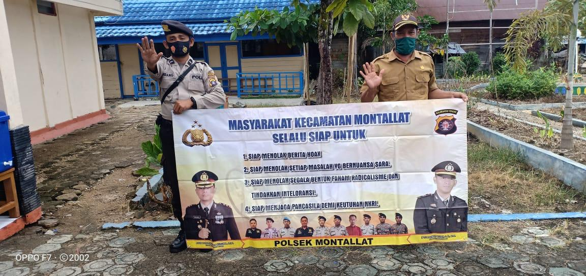 Jelang Pilkada, Polres Barut Aktif Berikan Sosialisasi Cegah Hoaks