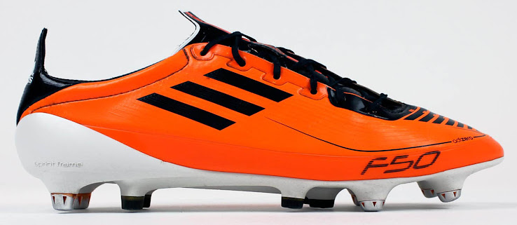 f2c92348e The first Adidas F50 Adizero Boot marked the beginning of a success story  featuring lightweight materials and a Sprintframe outsole.