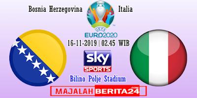 Prediksi Bosnia Herzegovina vs Italia — 16 November 2019