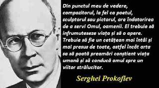 Maxima zilei: 11 aprilie - Serghei Prokofiev
