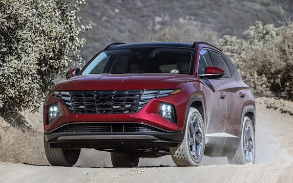 Novo Hyundai Tucson 2022 obtém classificação máxima de segurança