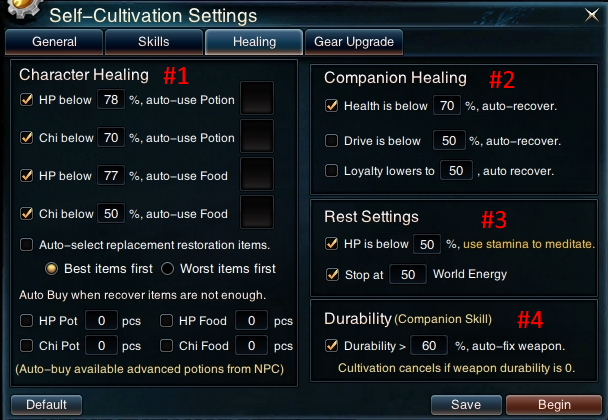 Swordsman Online Self Cultivation: Healing