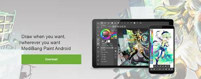 medibang paint untuk pc, laptop dan android