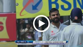 Virat Kohli double hundred vs nz 211