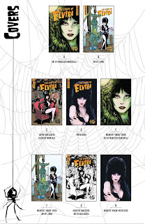 List of all cover for The Shape of Elvira #2 from Dynamite Entertainment