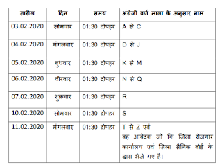 Walk in Interview dates for Bhiwani District Court Peon Mali Chowkidar Jobs notification 2020