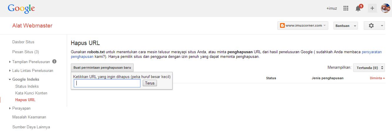 Cara Menghapus Postingan Blogger Permanen Tanpa Efek Broken URL