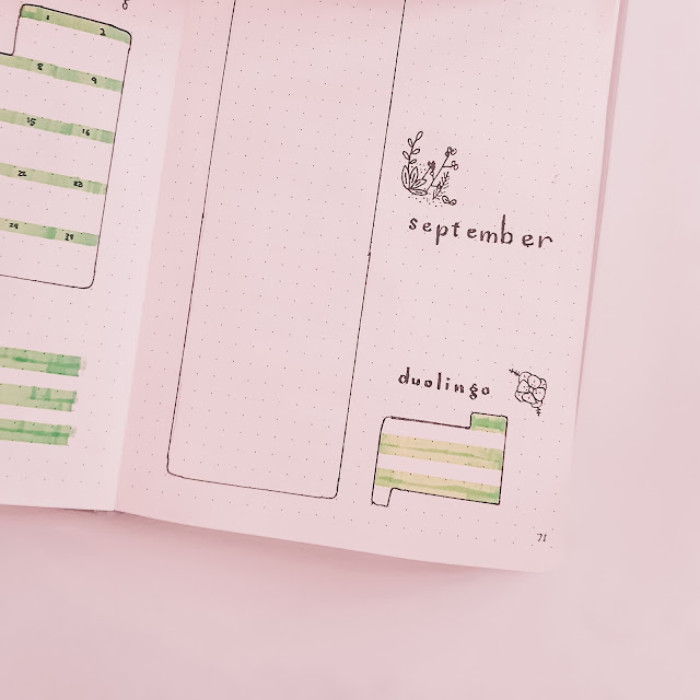 Plan With Me August Bullet Journal Layouts