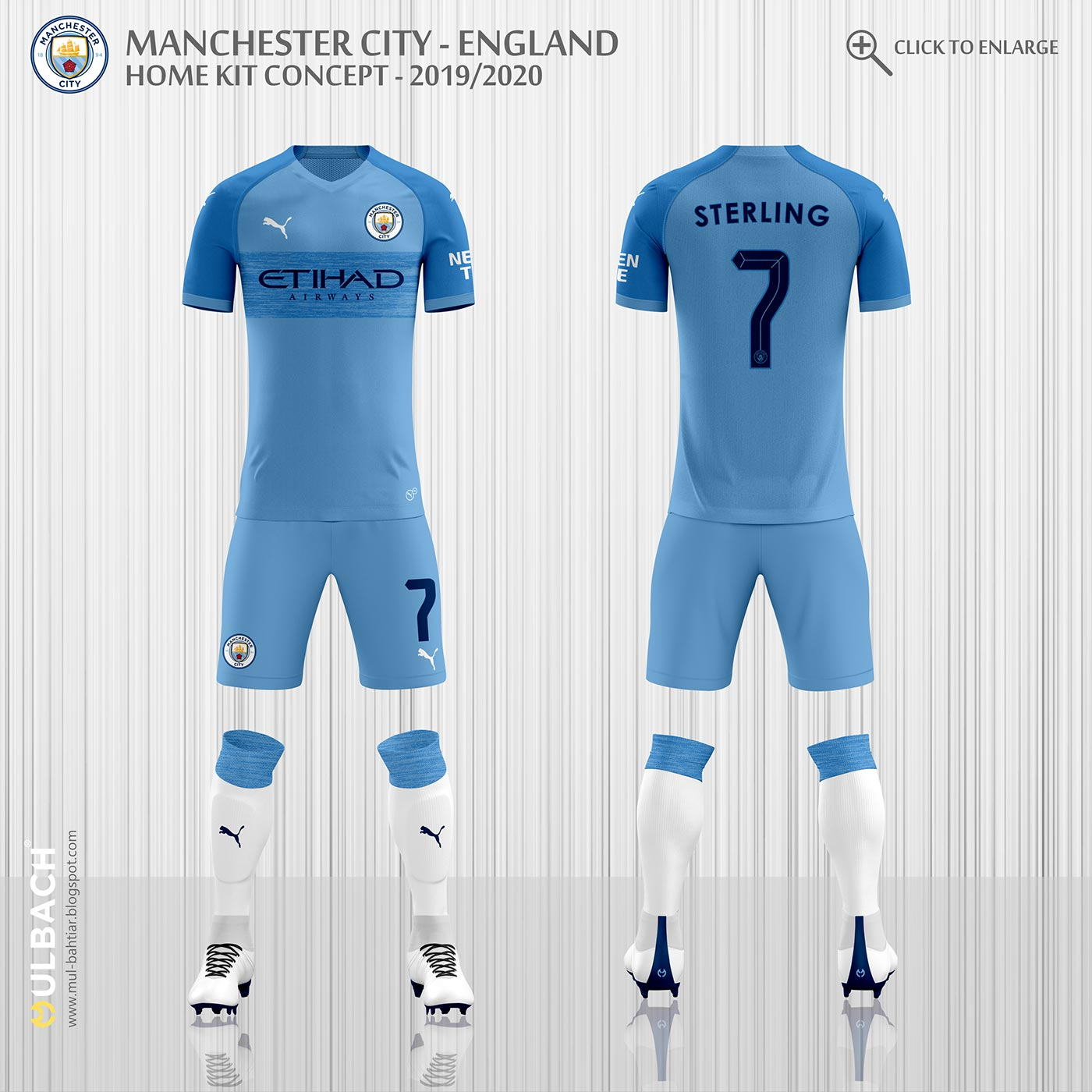 3260d5b40 Do you look forward to see the real Puma Manchester City 2019-20 home kit   Let us know in the comments below.