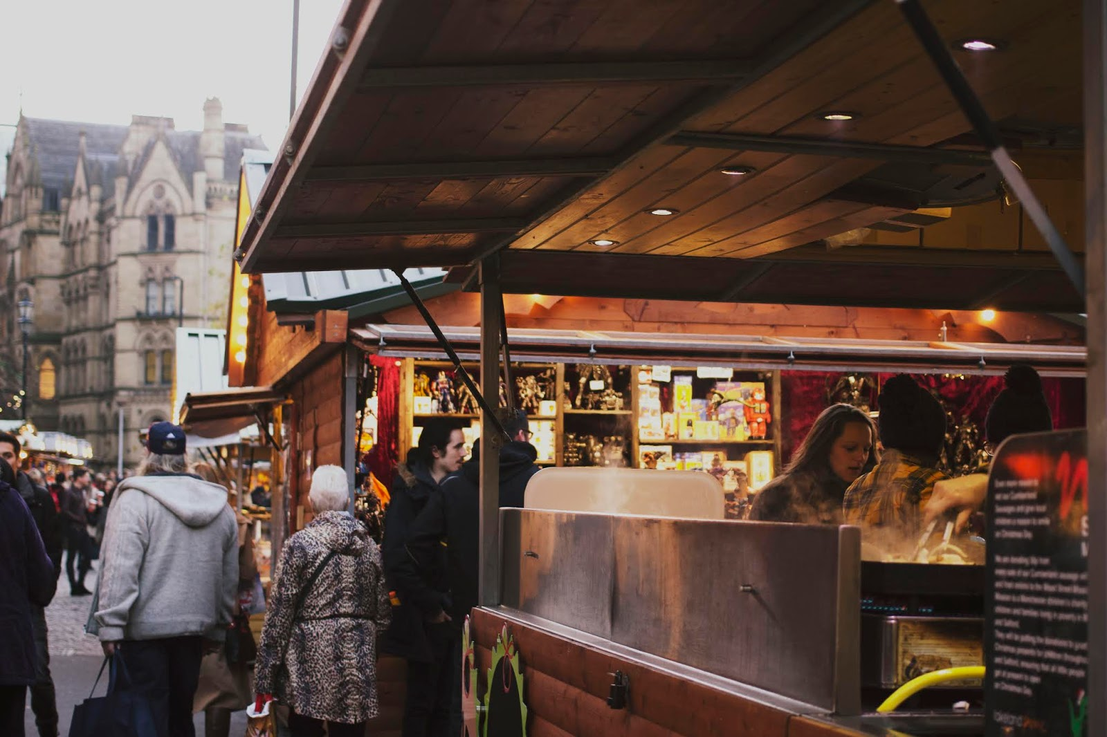 Manchester Christmas Markets, Food and drink, Food at Manchester Christmas Markets, Festive German Markets UK,