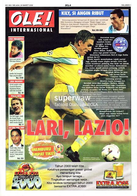 ALEN BOKSIC LAZIO 2000