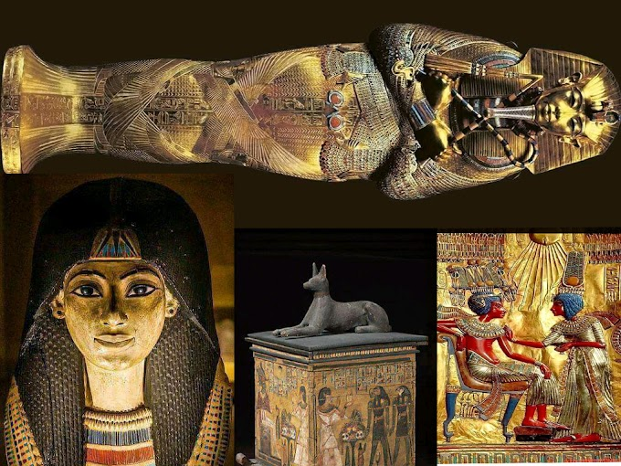 THE MOST MYSTERIOUS TOMB OF THE WORLD IS THE PHARAOHS TUTANKHAMUN'S TOMB