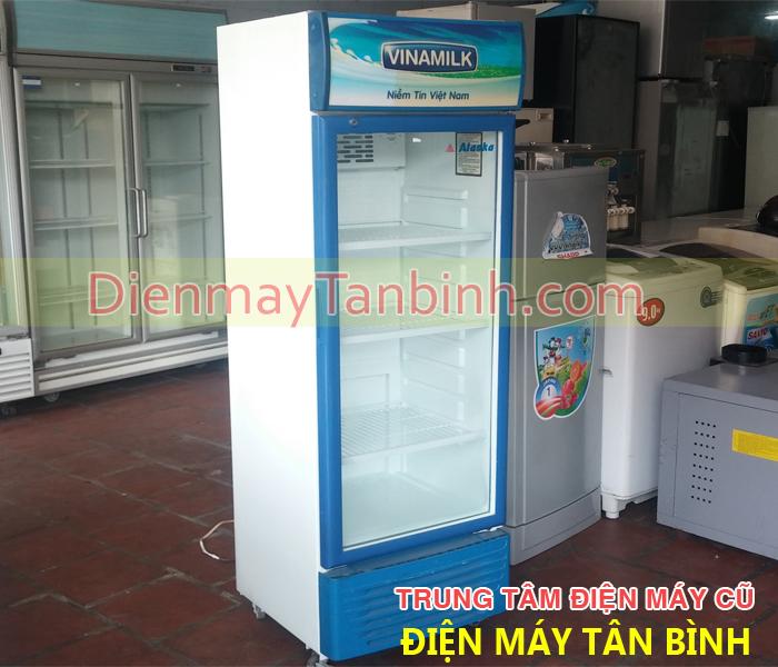 Bán tủ mát cũ Vinamilk 300 lít BH 12 tháng