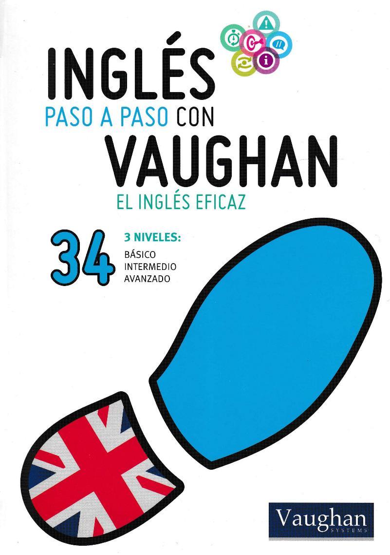 Inglés paso a paso con Vaughan 34 [Libro + Audio]