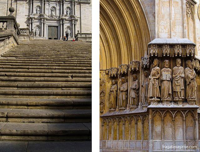 Catalunha: Catedral de Girona e Catedral de Tarragona