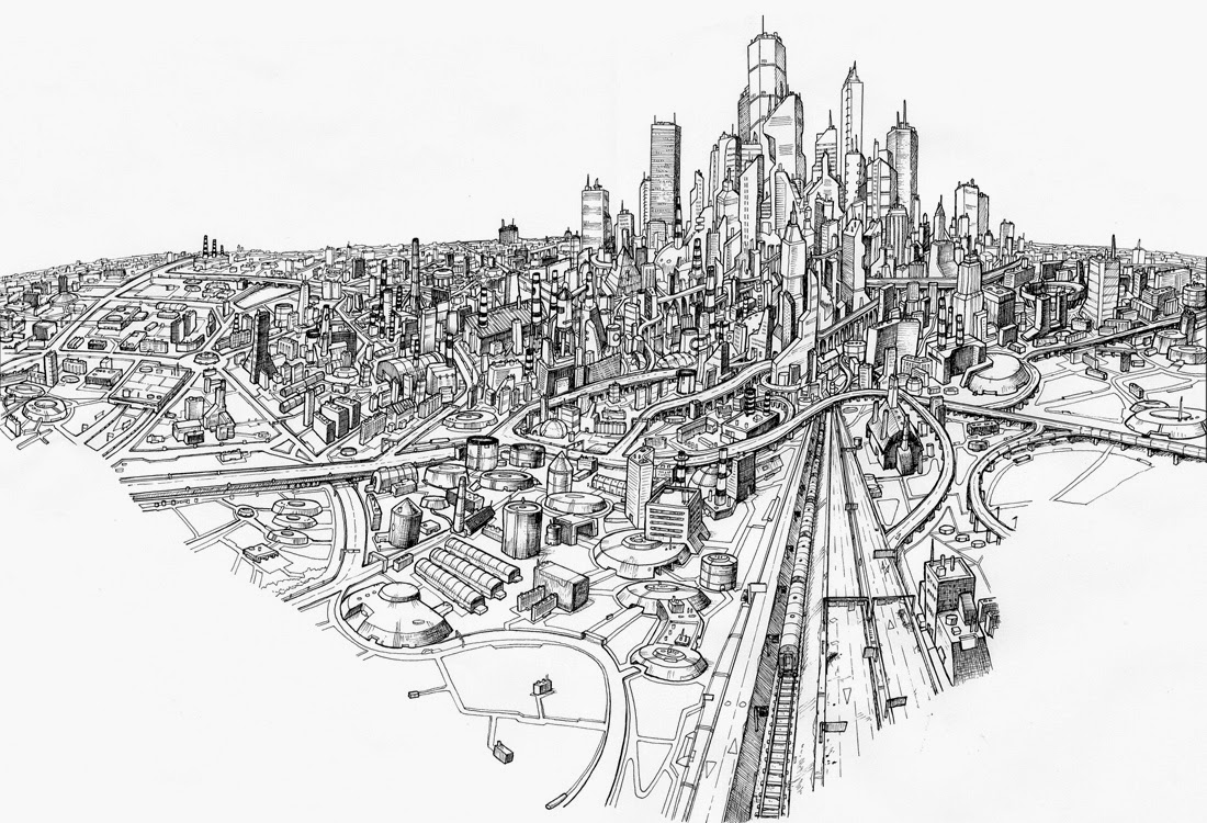 06-Cities-Vice-City-Two-DeckTwo-Cityscape-Mural-Drawings-www-designstack-co